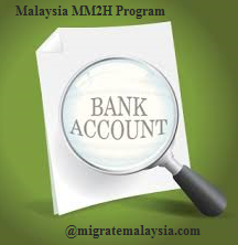 Guide to Open MM2H Bank Account