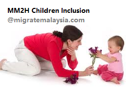 Guide to Apply Children Inclusion into MM2H program